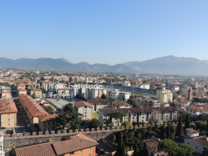 View of Pisa from the Bell Tower